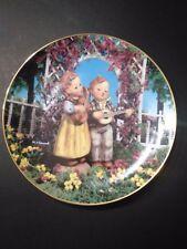 "Danbury Mint M J Hummel ""Little Musicians"" Plate"