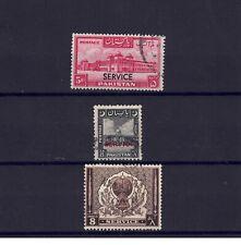 Pakistan GVI 1948-51 3 Hi Catalogue Value Official Stamps Fine Used