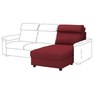 IKEA LIDHULT Cover for chaise section, Lejde red-brown 204.058.63 New