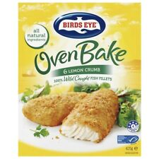 Birds Eye Frozen Fish Fillets With Lemon Crumb Oven Bake 6 pack 425g