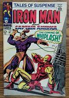 TALES OF SUSPENSE #97 1st WHIPLASH IRON MAN/CAP AMERICA BLACK PANTHER Marvel '68