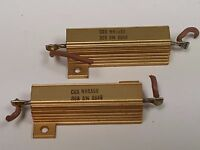 Qty. 2 / Wirewound Resistors 30 ohms, 50 watts