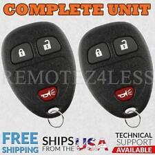 FOR 2 Keyless Remote Control Key Fob 2008-2013 CHEVROLET SILVERADO BUICK ENCLAVE