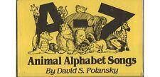 A-Z: Animal Alphabet Songs ~ David S. Polansky ~ Children ~ Cassette ~ Good