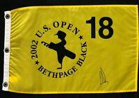 Ernie Els Signed Autograph 2002 US Open Championship Flag W/COA