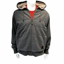 Field & Stream Quilted Sherpa Lined HoodieGray SIze Large NWT MRSP $100