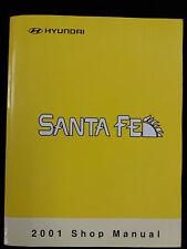 Genuine hyundai santa fe workshop manual 2001