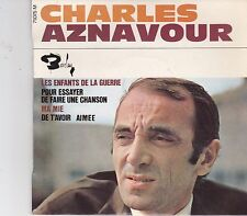 Charles Aznavour-Les Enfants De La Guerre vinyl single EP