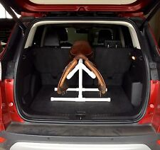 SUMMER SALE !! PVC COOL SADDLE RACK/STAND FOR CAR TRUNK - BACK SEAT - HATCHBACK