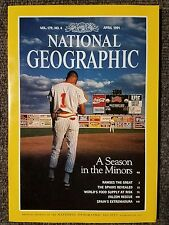 National Geographic magazine April 1991, Baseball, The Sphinx, Falcons, Ramses