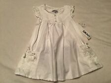Toddler Girls DKNY White Dress, Size 18 Months, NWT