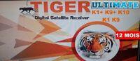 Activation Officiel Tiger Ultimate  K1+ , K9+ , K10 , K1 , K9