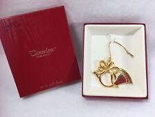 Tamerlane Christmas Ornament 24 Kt Gold Finish Horn Ornament Christmas 21668