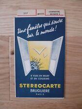 CARNAVAL DE NICE 3 STEROCARTE BRUGUIERE N° 2317