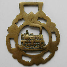 Steam Engine vintage Horse Brass railway train Industrial history Old transport