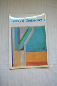 1971 Richard Diebenkorn Exhibit Catalog Marlborough Gallery New York Ocean Park