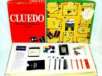 Vintage Cluedo Board Game Classic Detective Game Waddingtons 1972 Complete