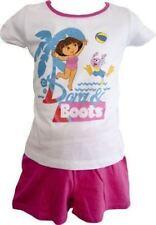 Abbigliamento pigiama completi bianchi per bambine dai 2 ai 16 anni Materiale 100 % Cotone