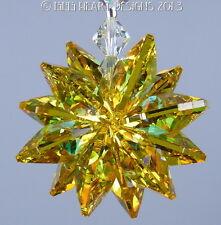 m/w Swarovski Aurora Topaz Octagon Sparkling Star SunCatcher Lilli Heart Designs