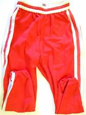 NOS Vtg 70s Mason Men's Baseball Pants Size 42 Red & White Stripes USA Rare!