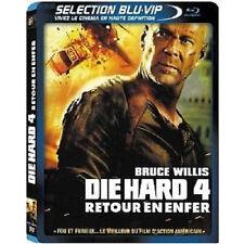 2909 // DIE HARD 4 RETOUR VERS L'ENFER BRUCE WILLIS COMBO BLU RAY + LE DVD NEUF