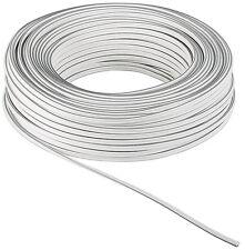LAUTSPRECHERKABEL (1,30€/m) WEIß/WHITE 2x 1,5mm² OFC-KUPFER 10m