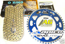Yamaha YZ 125 05-08 Iris 520 O-Ring Chain & Sprocket Set 14T 50T Blue