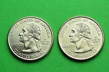 1999-P&D  BU Mint State (CONNECTICUT) Statehood US Quarters (2Coins)