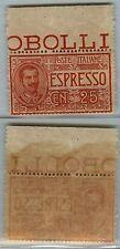 REGNO - 1903 - 25c BDF (1 Espressi) - MNH