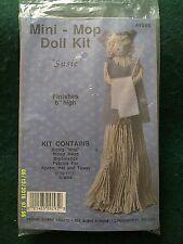 "Design Works Crafts ""Susie"" Mini Mop Doll Kit Size 8"" High"