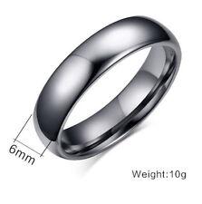 Men Women Tungsten Steel Wedding Ring Valentines Love Anniversary Band Size J-y Men's 7