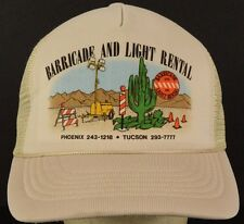 Barricade and Light Rental Mesh Trucker Hat Cap with Snapback Strap Adjust