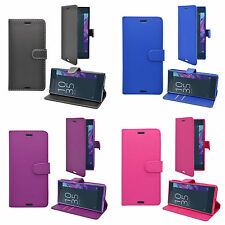 CASE FOR SONY XPERIA XZ WALLET IN VARIOUS COLOURS COVER