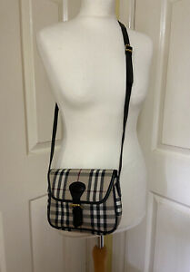 Burberry Vintage Small Crossbody/shoulder Bag. Classic Check.NO BUY IT NOW PRICE