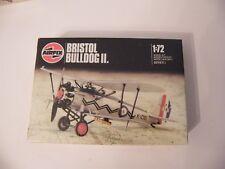 Airfix 1:72 Bristol Bulldog II. model canned blister