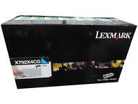 Lexmark X792X4CG X792X2CG X792X1CG Cyan Extra High Yield Toner Cartridge 20k *