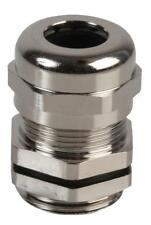 PG-MA PG11 Brass Nickel Plated Cable Gland 6-10mm Dia, 10 Pack - PRO POWER