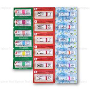 18 pcs of POYSIAN Mark ii + SIANG PURE + Peppermint Inhaler Eucalyptus Menthol