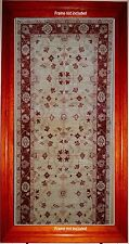 12' RUNNER TABRIZ ANTIQUE LOOK AGRA NEW A HEDGE AGAINST NEGATIVE