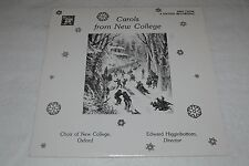 Carols From New College~Choir of New college, Oxford~Edward Higginbottom~MHS