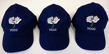 Yorkshire CCC Navy Blue Baseball Style Cricket Cap,Adult Size @ £11.75p Each !