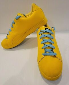 REEBOK Ice Cream SKATE SHOES Board Flip YELLOW Mens 11.5 BILLIONAIRE BOYS CLUB