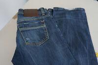 LTB Damen Jeans regular low rise stretch Hose 26/34 W26 L34 used darkblue  P7