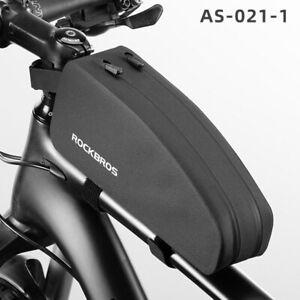 ROCKBROS Bicycle Front Top Tube Frame Bag Waterproof Cycling  Large Capacity