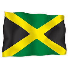 "JAMAICA Jamaican Flag car bumper sticker decal 6"" x 4"""