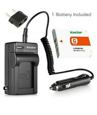 Kastar Battery and LCD Slim USB Charger for Sony NP-BG1 FG1 Type G CyberShot DSC
