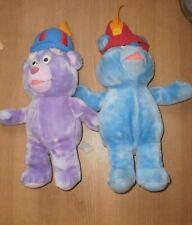 2 Peluches  Les Gummies Gummi Bears  1985 Disney