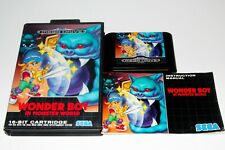 WONDER BOY IN MONSTER WORLD - SEGA MEGADRIVE - COMPLETE