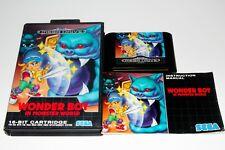 Wonder boy in monster world-sega mega drive-complete