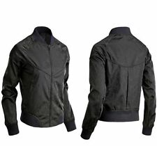 Nike Zip Waist Length Polyester Coats & Jackets for Women